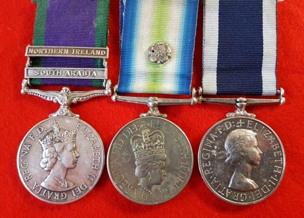 Royal Marines Falklands Medal Group