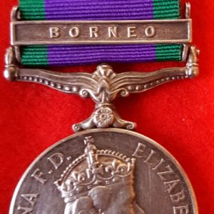 Royal Marines Borneo General Service Medal