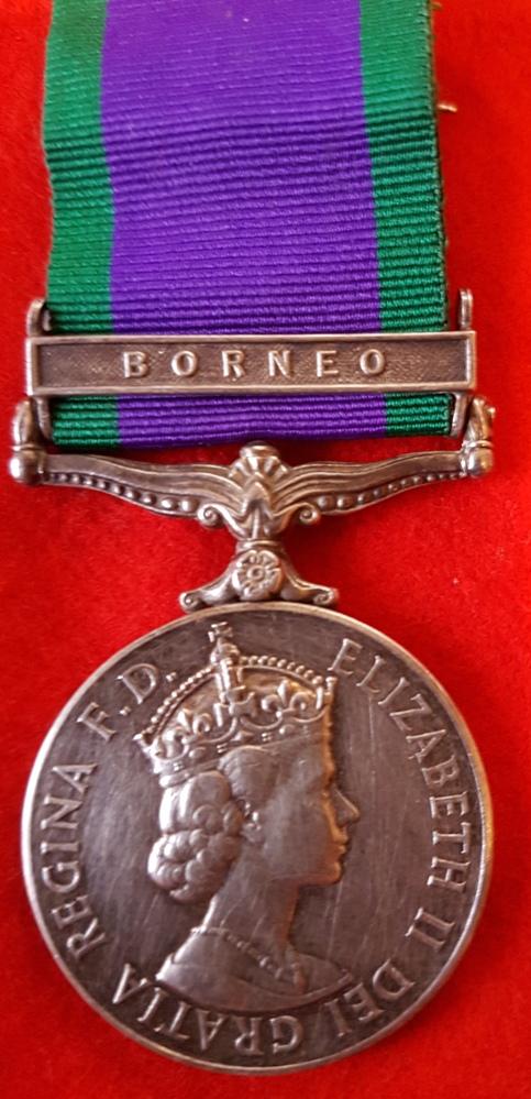 Royal Marines Borneo General Service Medal