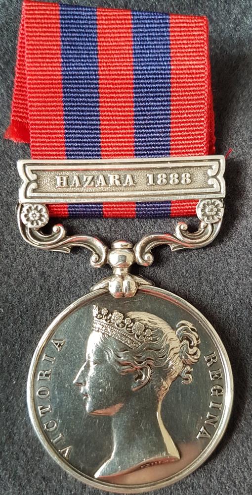 Royal Irish Regiment India General Service Medal
