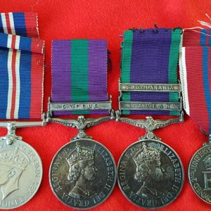 Royal Air Force Long Service Medal Group