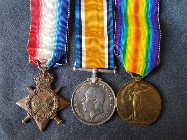 Switzerland POW Buffs Great War Medals