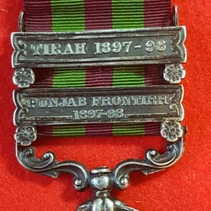 Royal Inniskilling Fusiliers India Medal 1895