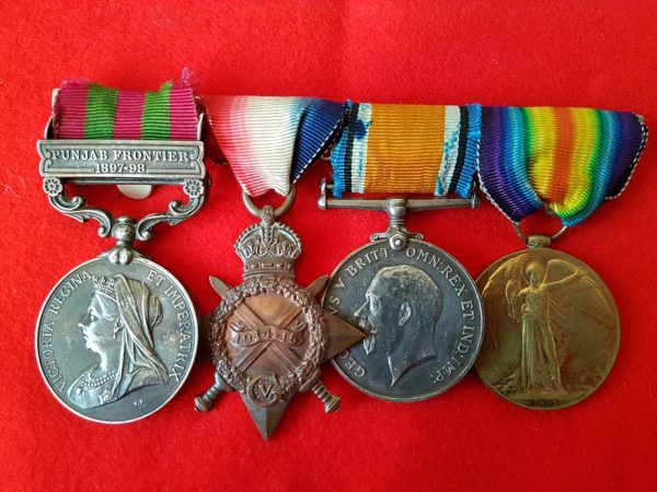 Somerset Light Infantry Victorian and Great War Medal Group