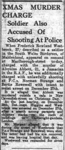 Nottingham Evening Post 11th January 1947 crime report