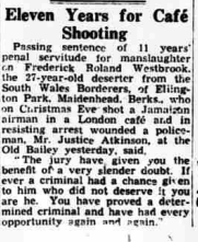 Western Mail 14th February 1947 Sentencing