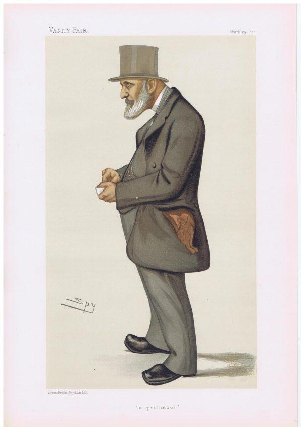 James Edwin Thorold Rogers Vanity Fair Print