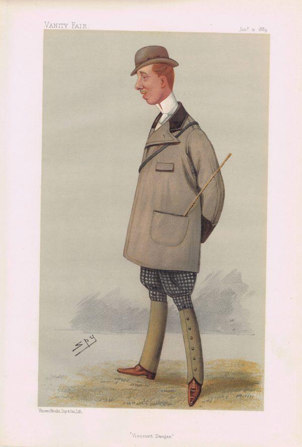 Viscount Dangan Vanity Fair Print