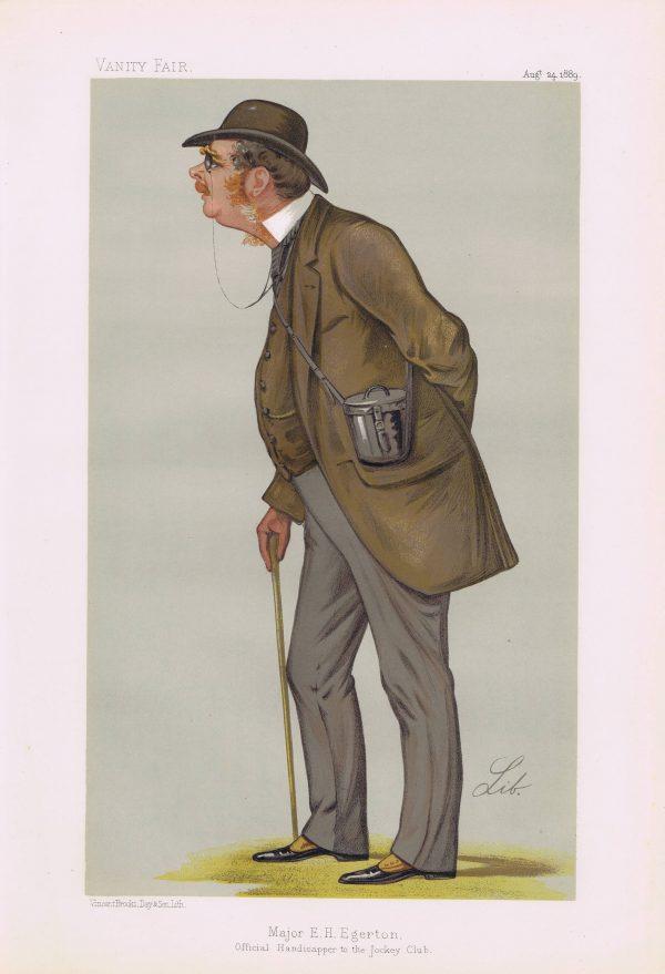 Egerton Vanity Fair Print