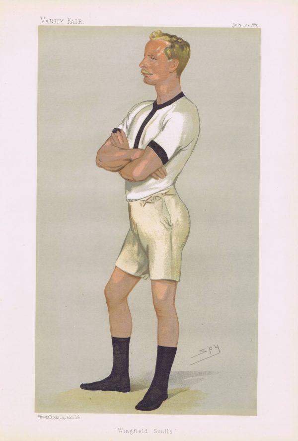 Guy Nickalls Vanity Fair Print