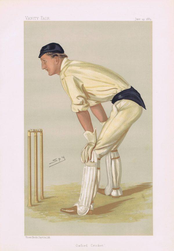 Hylton Philipson Vanity Fair Cricketer Print