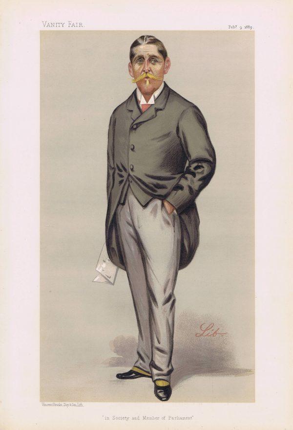 William Cuthbert Quilter Vanity Fair Print