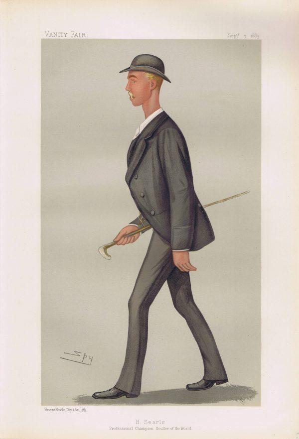 Henry Searle Original Vanity Fair Print