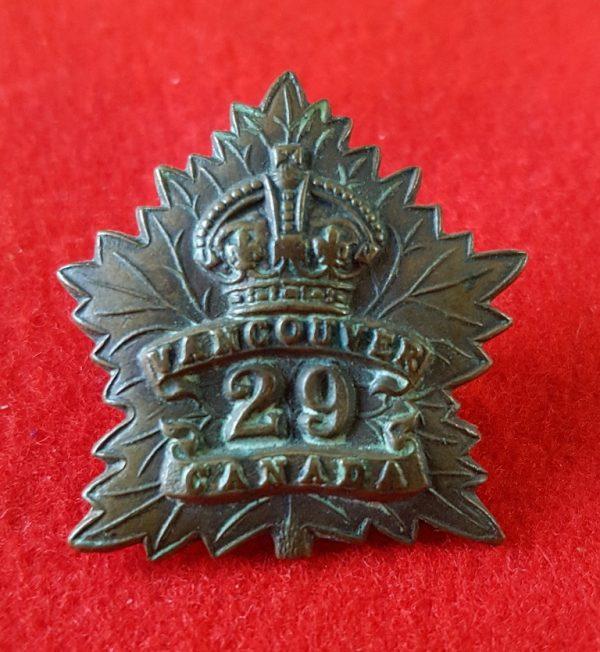 29th Vancouver Battalion