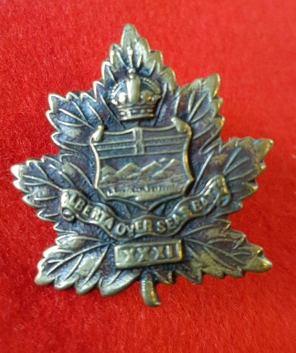 31st Battalion Alberta Regiment