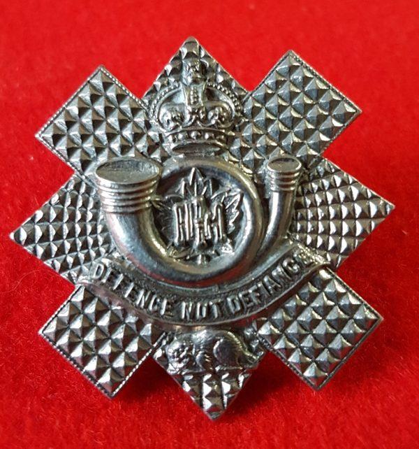 Canadian Highland Light Infantry Collar Badge