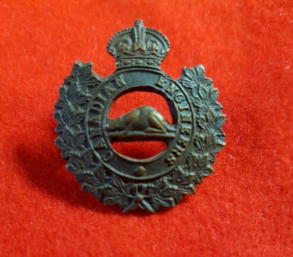 Canadian Engineers Collar Badge