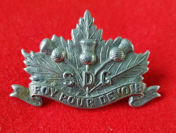 SDG Collar Badge
