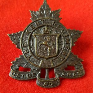 The Kent Regiment collar badge