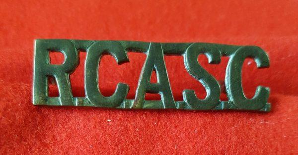 RCASC Shoulder Title