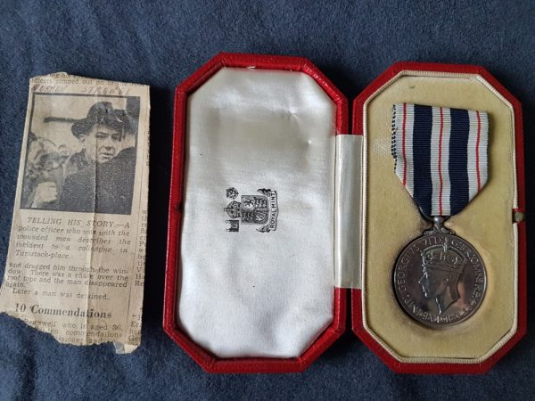 King's Police Medal for Gallantry