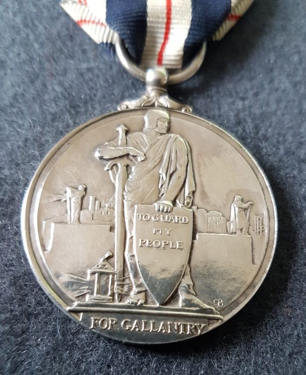 For Gallantry