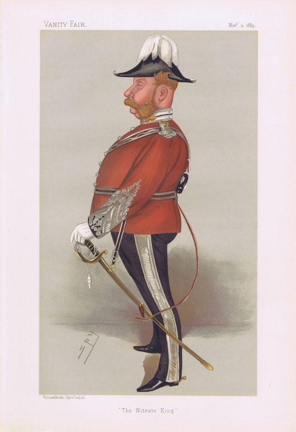 Colonel John Thomas North Vanity Fair Print