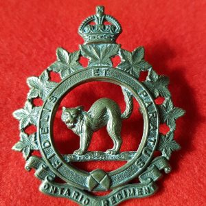 Ontario Regiment Badge