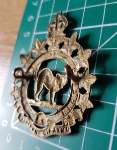 Canadian Army Ontario Regiment Badge