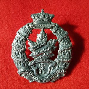 Duke Of Connaughts Own Rifles Cap Badge