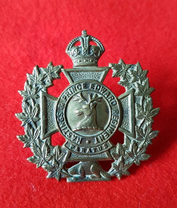Hastings and Prince Edward Regiment Badge
