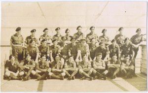 HMT Windrush 19 10 1950 1st glos 9 Pln C Coy